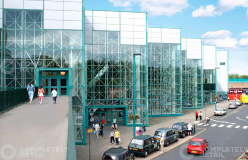 Blackburn Shopping Centre Car Park